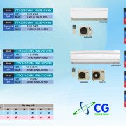 Máy điều hòa không khí FTKS Series