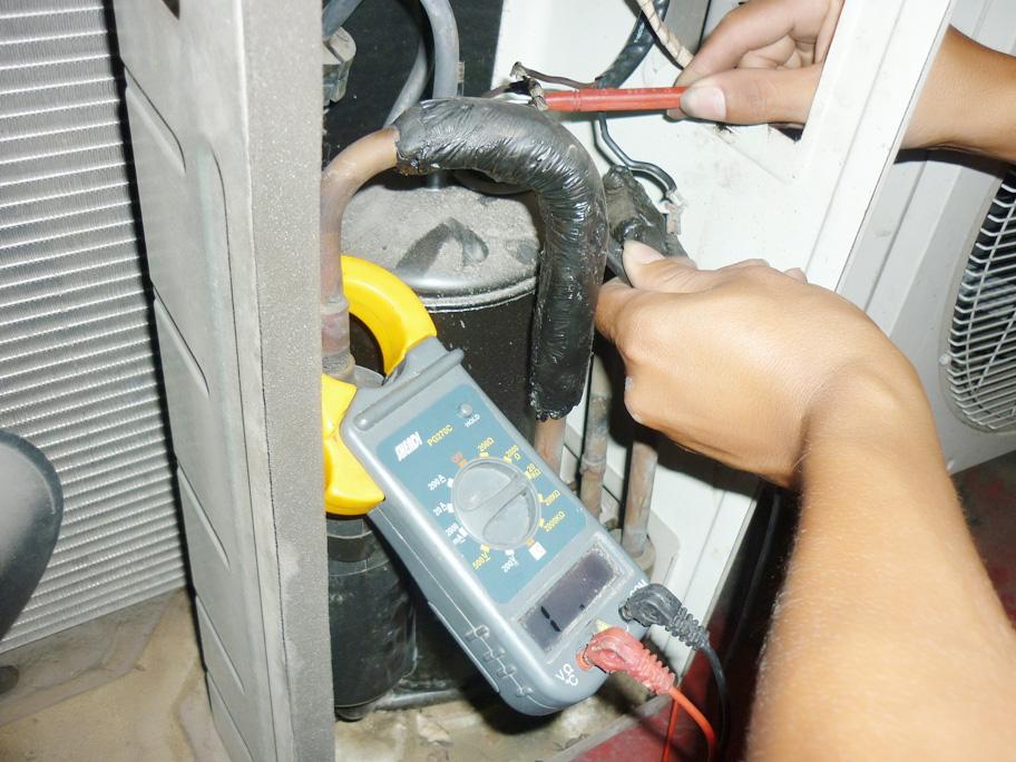 Kiểm tra lốc máy lạnh