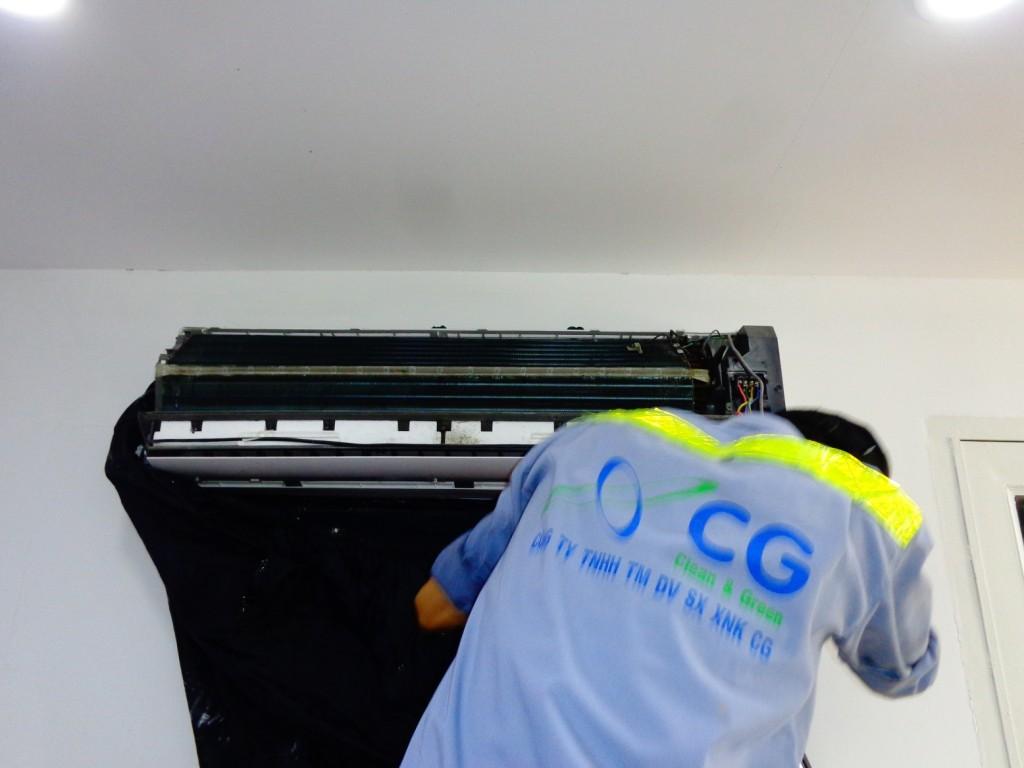 Bảo trì máy điều hòa tp hcm