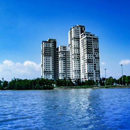 Thi công căn hộ Đảo Kim Cương, gồm hệ thống máy lạnh, điện, nước, tivi, đèn chiếu sáng, phòng cháy chữa cháy...