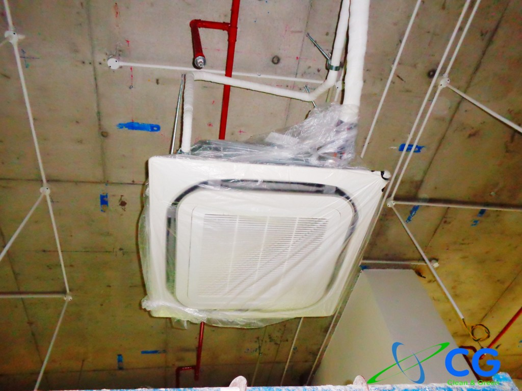 Hình Lắp Đặt Máy Lạnh Trung Tâm Văn Phòng